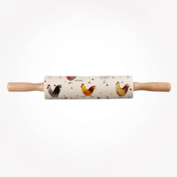 ALEX CLARK Rooster Rolling Pin
