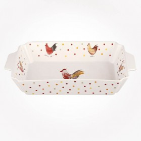 Alex Clark Rooster Rectangle Roaster 35cm