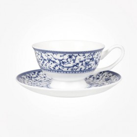 Blue Story Grace Arabesque Cup & Saucer