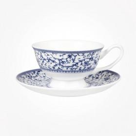 Blue Story Grace Arabesque Cup & Saucer
