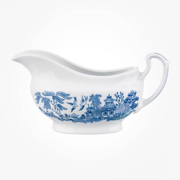 Blue Willow Gravy Boat 340mL