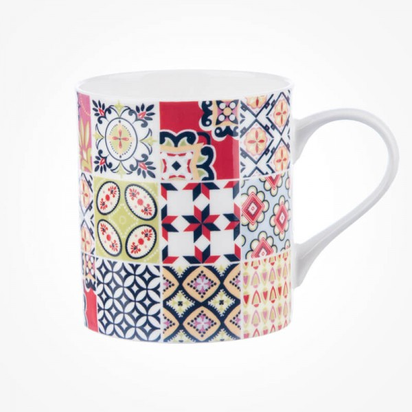 Queens Couture Tiles Tangier Earth Mug