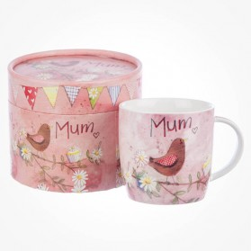 Alex Clark For Mum Mug in hatbox