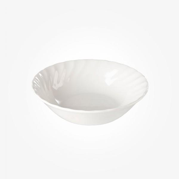 Chelsea White Oatmeal Bowl 15,5cm