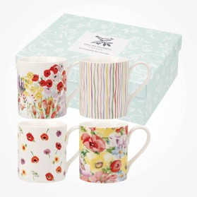 Collier Campbell Painted Garden Mug Box Set