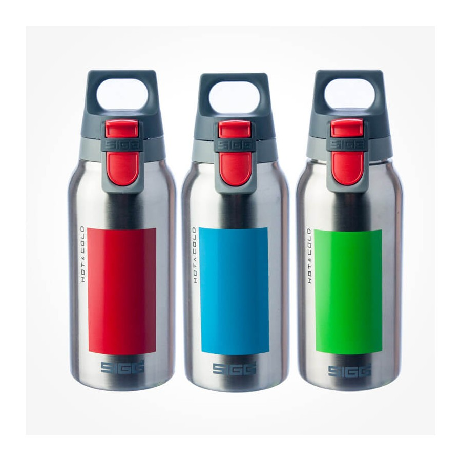 Sigg Hot Amp Cold One Accent Green 0 3l Thermos Flasks