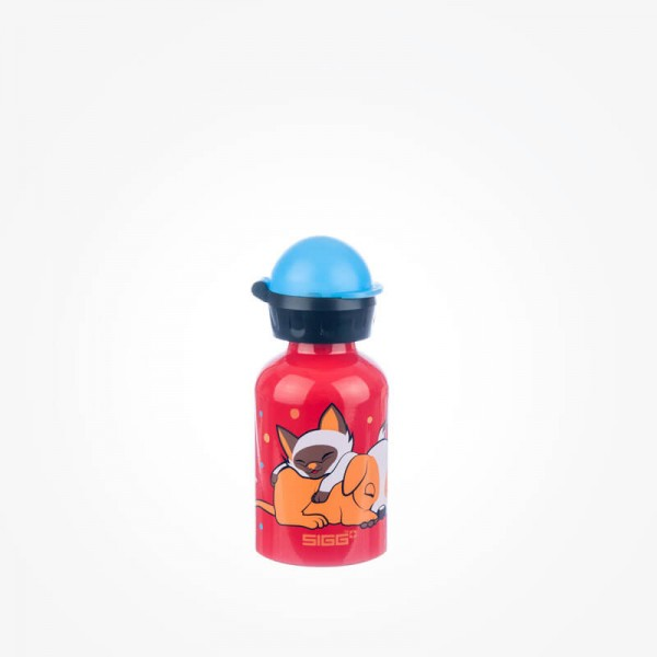 Kids Dogs Love Cats 0 3l Sigg Water Bottles