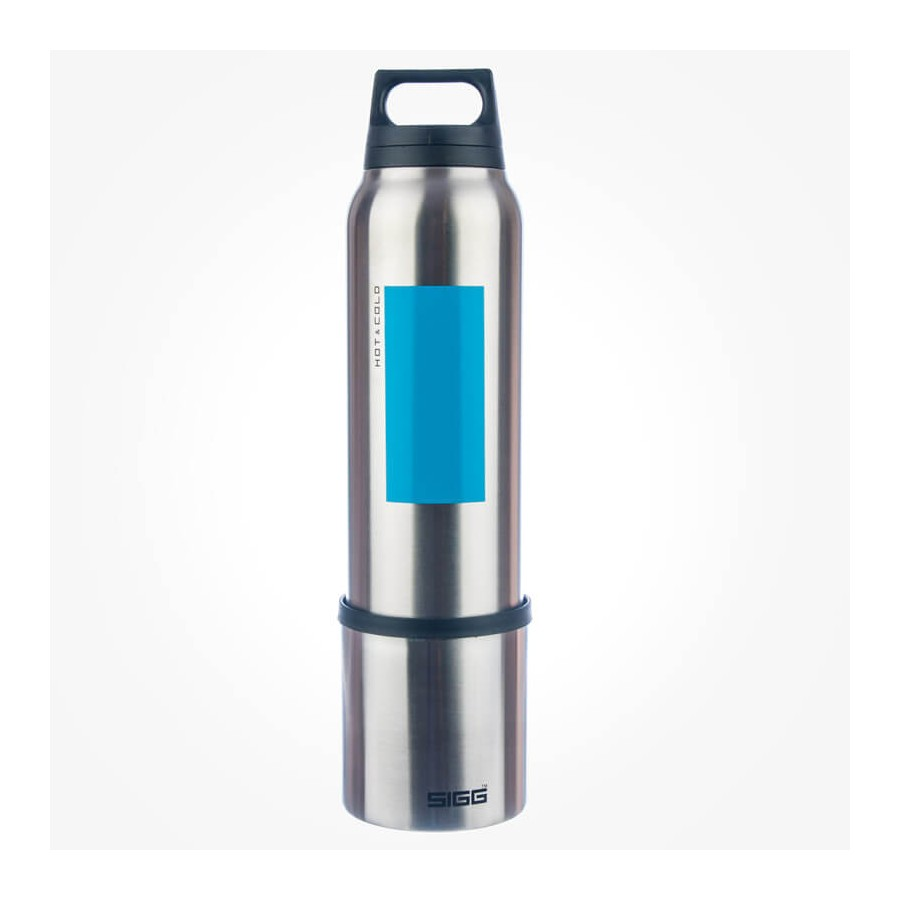 Sigg Hot Amp Cold Accent Aqua 0 75l Thermos Flask