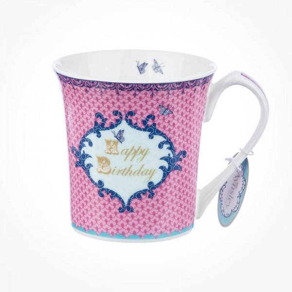 Loved Ones Best  Happy Birthday Pink Mug