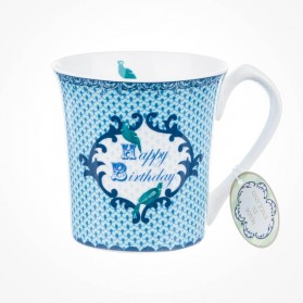 Loved Ones Best Happy Birthday Blue Mug