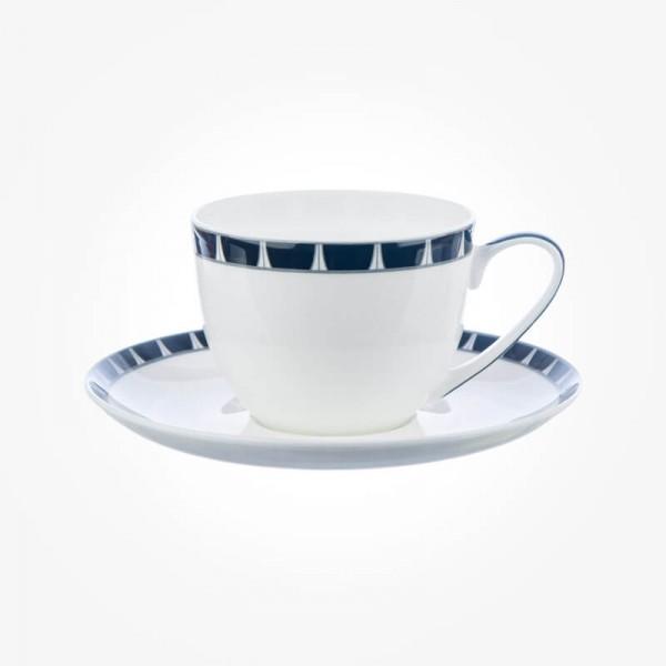 Aynsley Mozart 4 X Teacup & Saucer Box Set