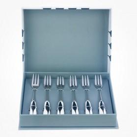 Mozart 6 Pastry Fork set