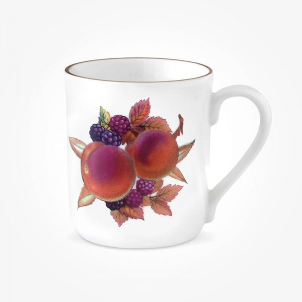 Evesham Gold Mug Peach and Blackberry