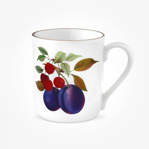Evesham Gold Mug Plum & Cherry
