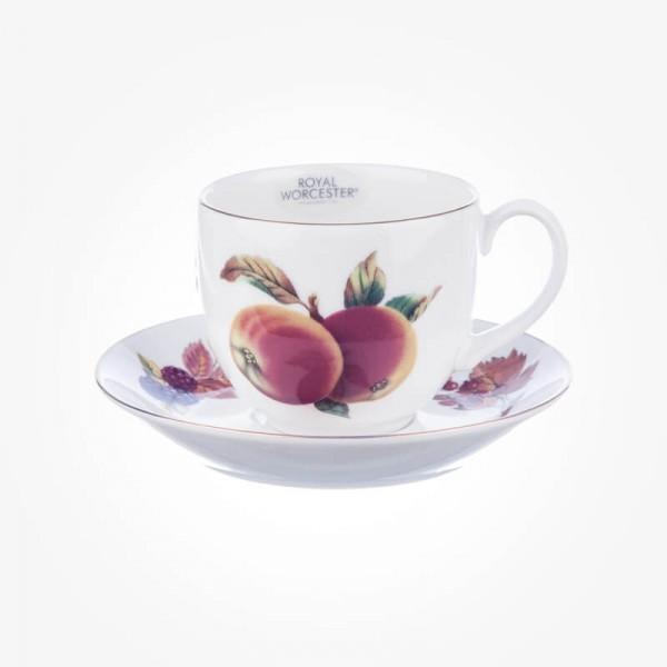 Evesham Gold Teacup & Saucer set