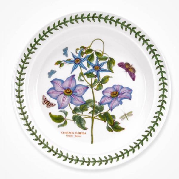 Botanic Garden 10 inch Dinner Plate Clematis