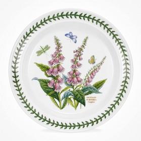 Botanic Garden 10 inch Dinner Plate Foxglove