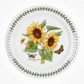 Botanic Garden 10 inch Dinner Plate Sunflower