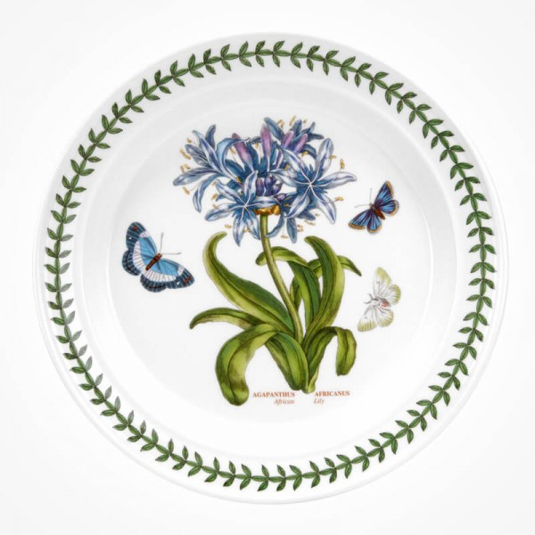 Botanic Garden 10 inch Dinner Plate African Lily