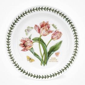 Botanic Garden 10 inch Dinner Plate Parrot Tulip