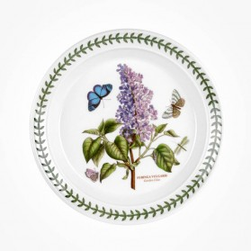 Botanic Garden 8 inch Plate Garden Lilac