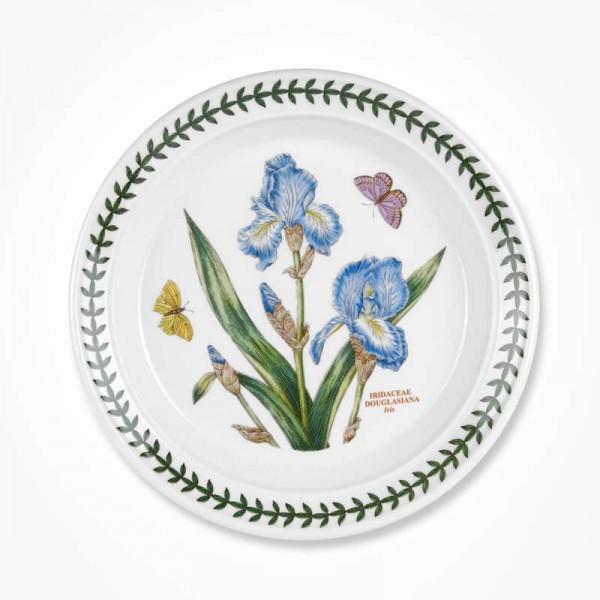 Botanic Garden 8 inch Plate Iris