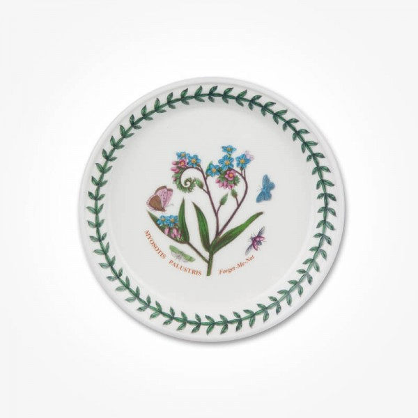 Botanic Garden 5 inch Bread Plate Forget me Not