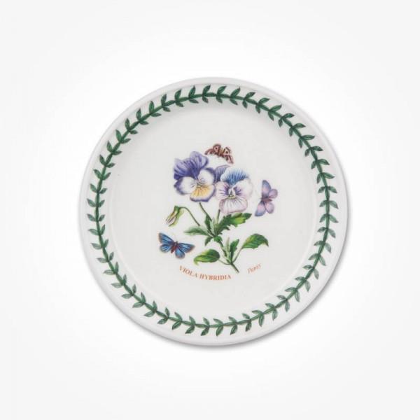 Botanic Garden 5 inch Bread Plate Pansy