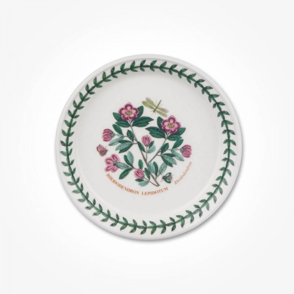 Botanic Garden 5 inch Bread Plate Rhododendron