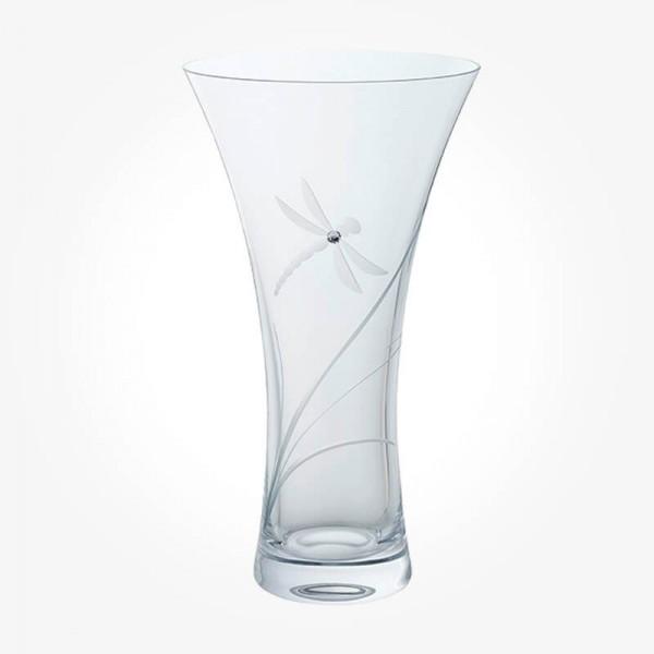 GLITZ Dragonfly Large Vase