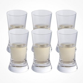 Wine & Bar Shot Glass 6 pack Gift Box
