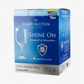 FINISH SHINE ON Red Wine Glasses 4 packs