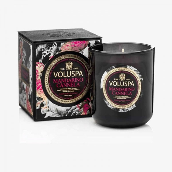 MAISON NOIR 12oz Boxed Candle Mandarino Cannela