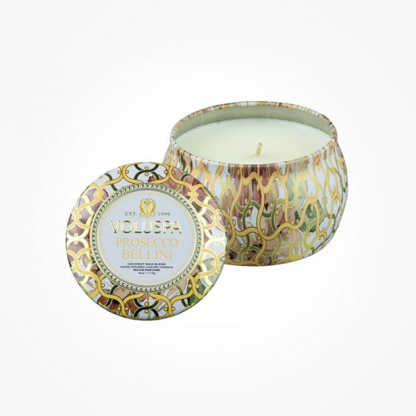 MAISON BLANC 4oz Mini Tin Prosecco Bellini