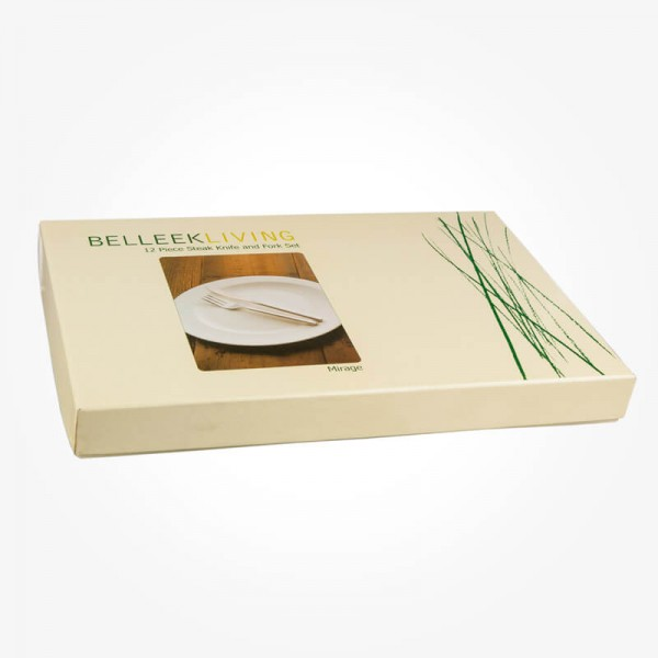 Belleek Living Mirage 12 pcs Steak Knife&Folk set
