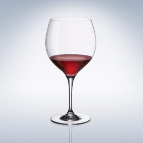 Maxima Crystal Burgundy Goblet 225mm
