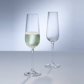 Purismo Champagne flutes Set of 2 Gift Box
