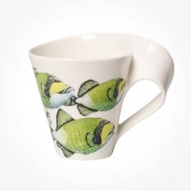 Villeroy Boch Newwave Caffe Triggerfish Mug giftbox