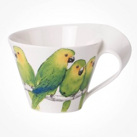 NewWave Caffe Conure White Coffee Cup