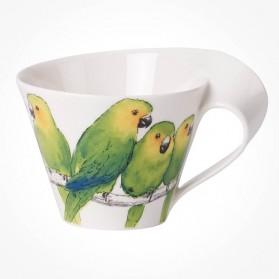 NewWave Caffe Conure White Coffee Cup