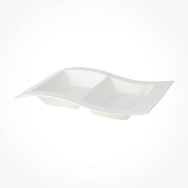 NewWave Platter 2 compartment 31X21cm