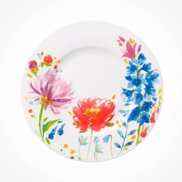 Anmut Flowers Salad Plate 22cm