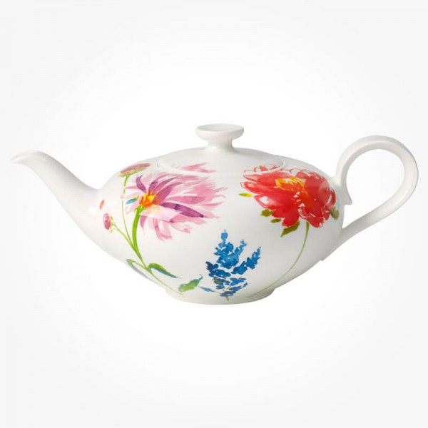 Villeroy and Boch Anmut Flowers Teapot 1.0L