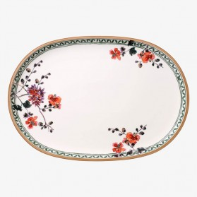 Artesano Provencal Verdure Oval Fish Plate
