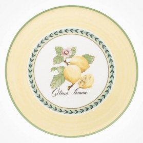 Charm & Breakfast French Garden Cake Plate 30cm
