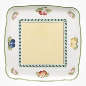 Charm & Breakfast French Garden Square Platter