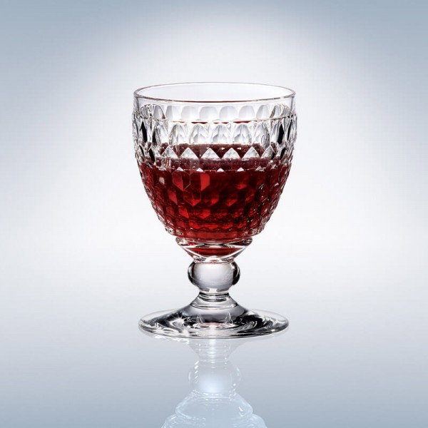Boston Crystal Red Wine Goblet 132mm