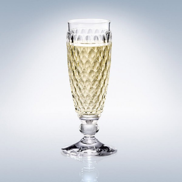 Boston Crystal Champagne Flute 163mm