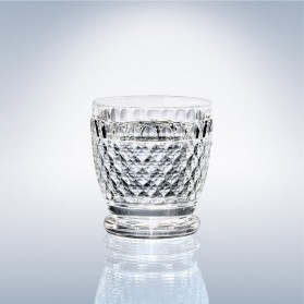 Boston Crystal Tumbler Glass 100mm