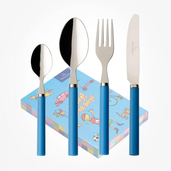 Play for Boys Children Cutlery set 4pcs